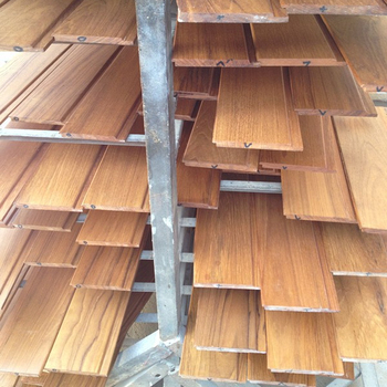 Factory Price Chinese Teak Wood Wall Panel Skirting