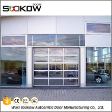 residence use tempered glass entrance door