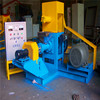 Floating fish feed extruder and poultry pellet feed machines