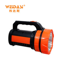 outdoor working professional battery led search light with side lamp