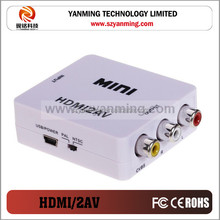 hdtv to RCA Audio Video AV 1080P Link TV To AV Converter