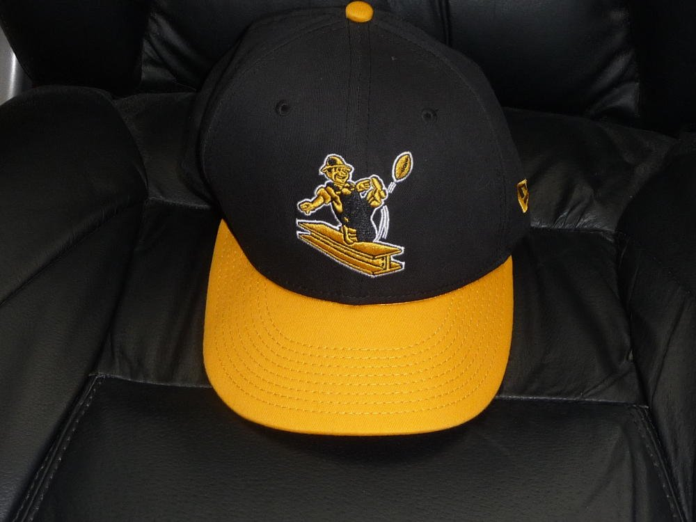 Get Quotations · NEW PITTSBURGH STEELERS FOOTBALL 1960 S LOGO NEW ERA  39THIRTY ADJUSTABLE CAP HAT 41f569328