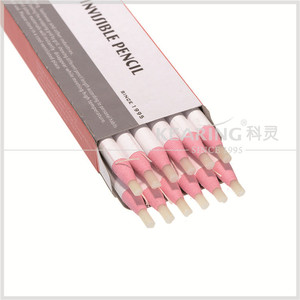 No sharpening marker disappear pencil white color wax pencil for temporary marking on fabric