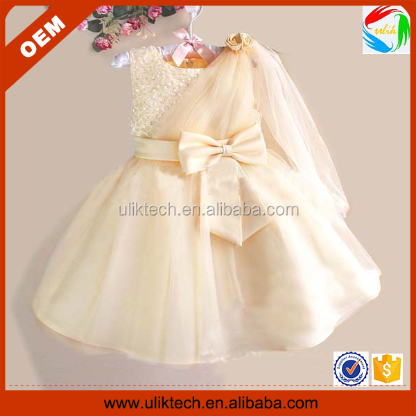 China Supplier High Quality Little Princess Girl Dress (ulik-a0077 ...
