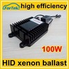 AC 12 volt high efficiency genuine auto 100w hid xenon ballast