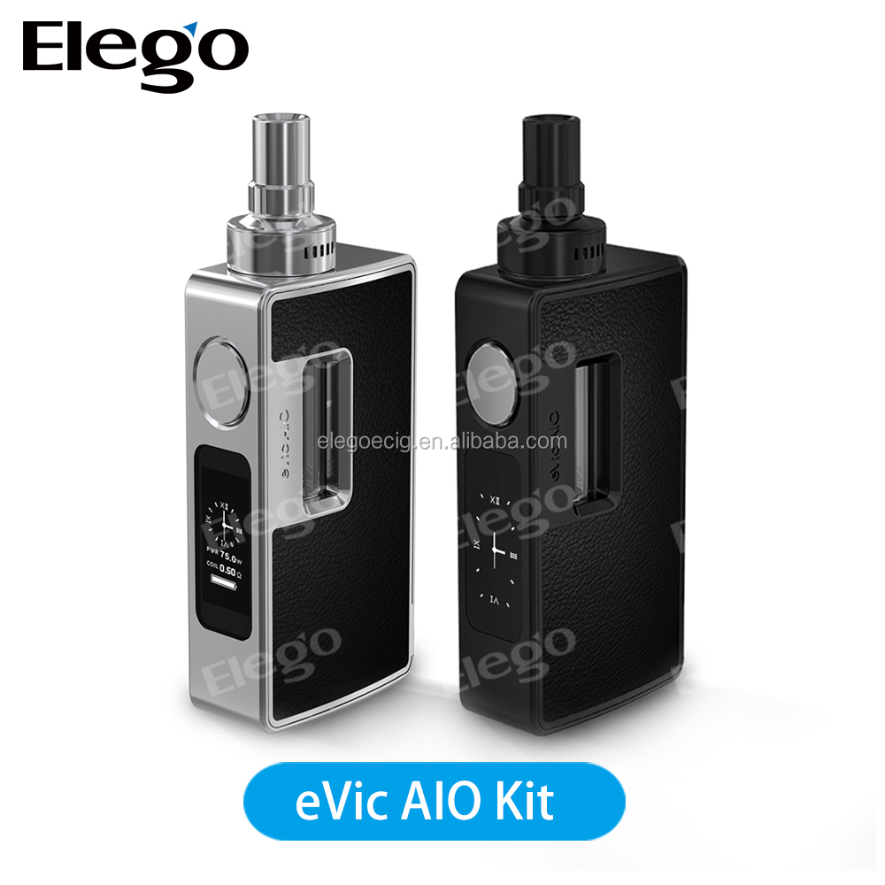 New E-cigarrette!!!Joyetech Newest 1-75W Joye eVic AIO Kit with 3.5ml Capacity with Fasttest Shipping