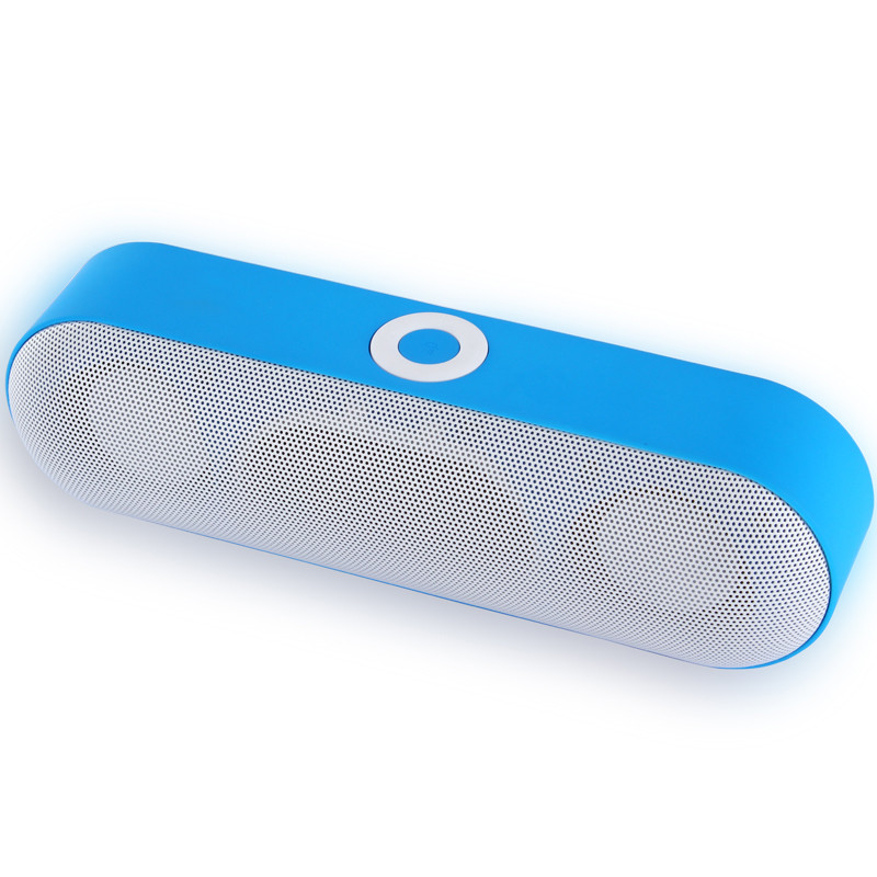High quality great sound 6W portable bluetooth speaker with fm radio