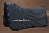 Sheepskin western saddle pad for Horse