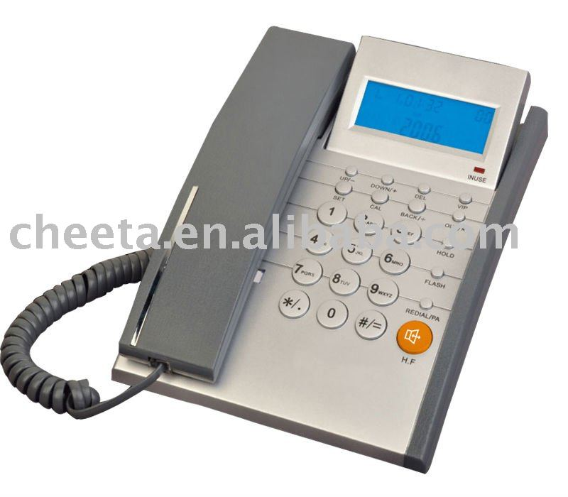 corded caller id phone with touch panel