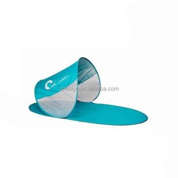 Foldable Beach Mat With Sun Shade Polyester Sun Shelter Buy Beach