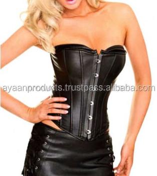 fe211344871 Tube Top Style Crew Neck Leather Corset Ap-1706 - Buy Underwear ...