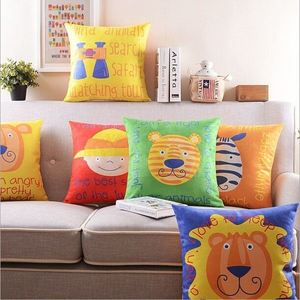 China wholesale 100% linen applique work cushion cover