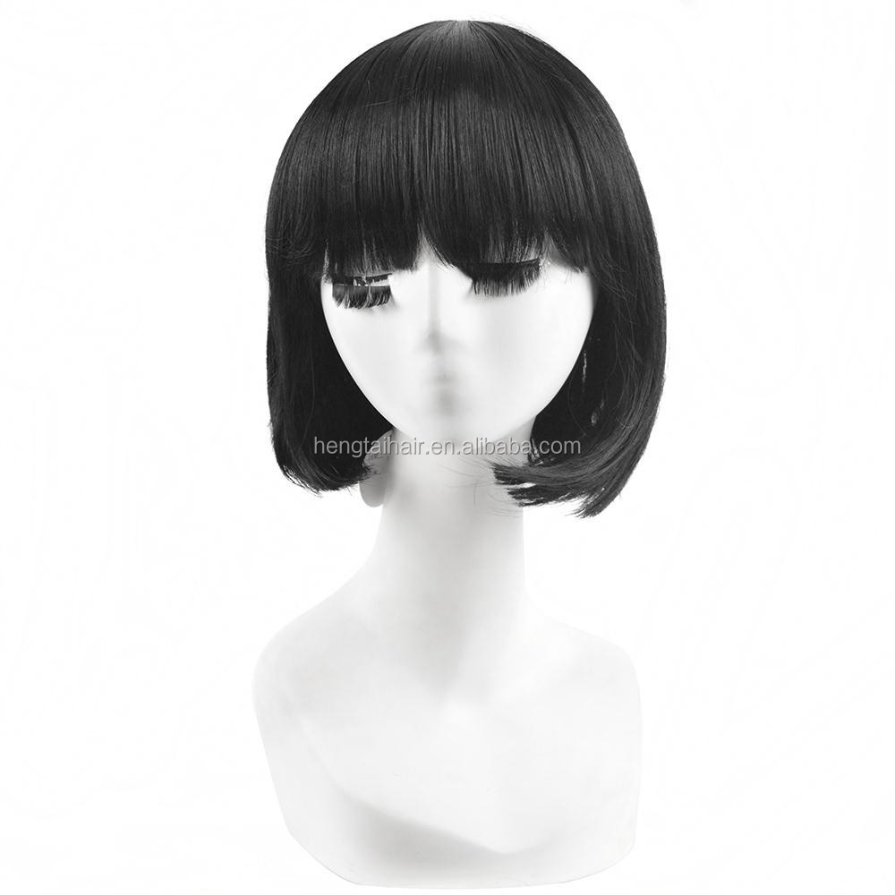 30cm Black Short Straight Haircuts Anime Noragami Nora Cosplay