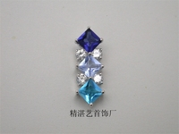Factory Direct China Wholesale Crystal Pendant ,beautiful color pendant,upscale Las Vegas jewelry