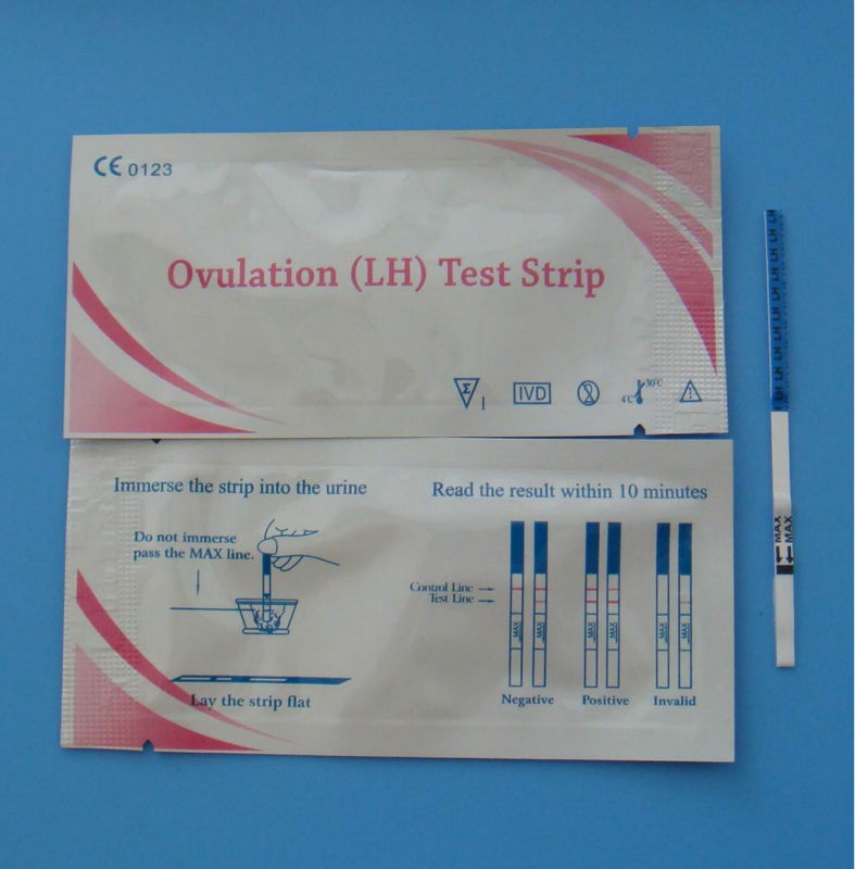 High Accuracy Lh Ovulation Test Strip Manufacturer Made In China