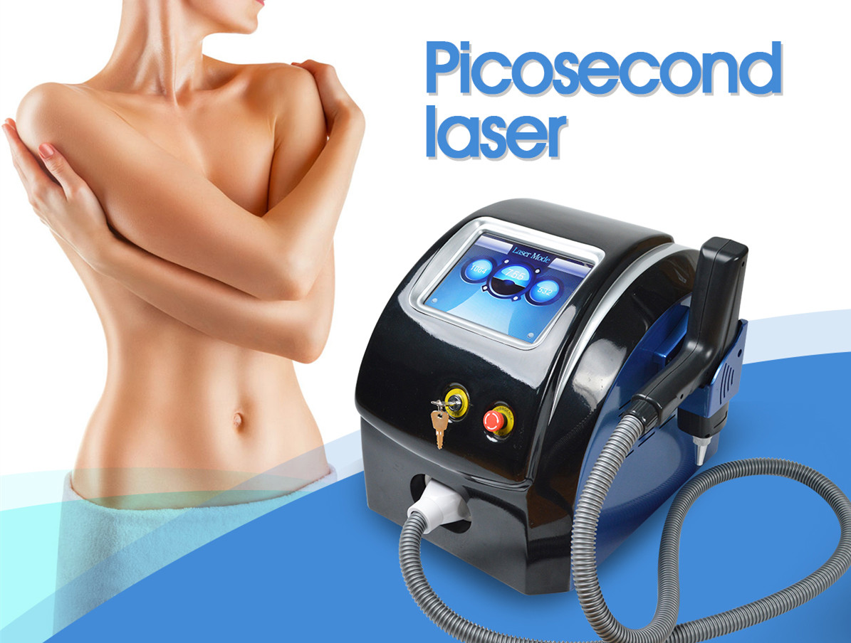 Snelle tattoo removal pico tweede alexandriet q switched nd yag laser machine