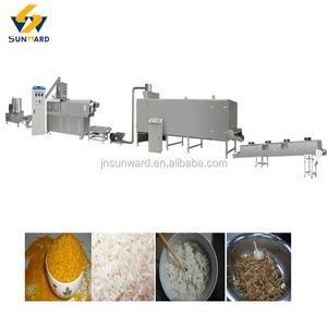 High quality automatic nutritional rice making machine golden rice processing line