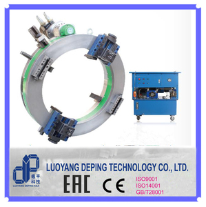 Pipe cold cutting machine to make bevel for welding