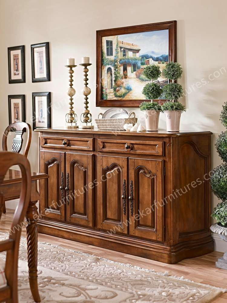 Home Goods Furniture Dining Room Sideboard Buffet Wooden