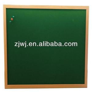 Office supply 60*90cm green color fabric notice board