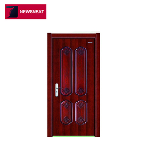Favorable Price modern interior 2 ft wide interior steel and wood door