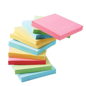 Die-cut self adhesive sticky note pad cheap custom memo sticky note pad