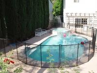 Aluminium Swimming Pool Fencing , Aluminum Fence for Swimming Pool