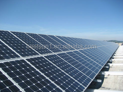 Complete solar panel system home solar panel kit 2KW