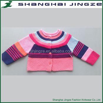 Hot Sale Kids Cotton Superman Cardigan Baby Sweater Knitting