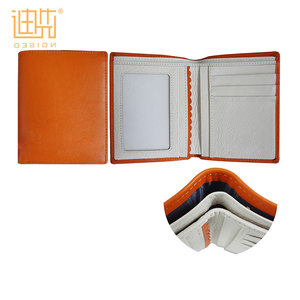 design your own wallet 2017 mix orange color brand name wallet Japanese style Pu wallet
