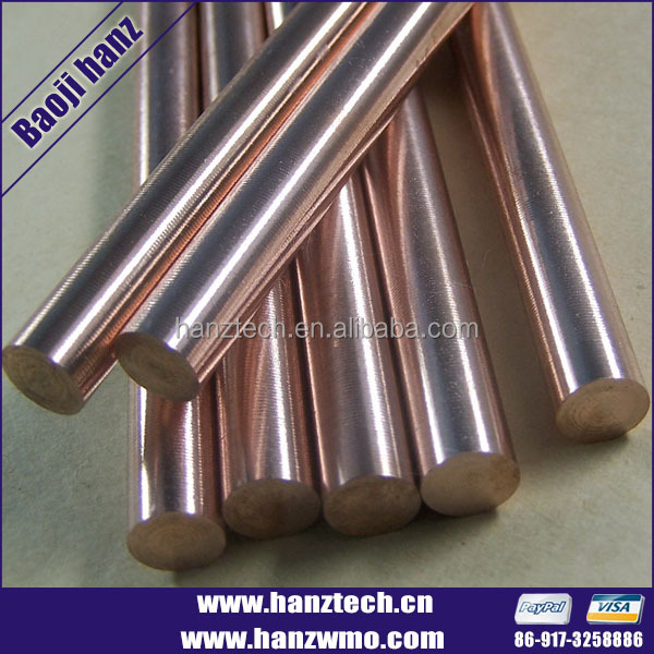 China supplier Baoji Hanz tungsten welding rod