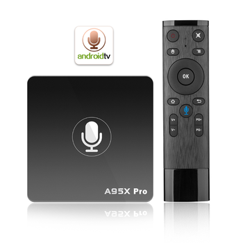 Download Wap Games Center TV Box 2G 16GA95X PRO Android 7.1 Long Distance Remote Control via Voice