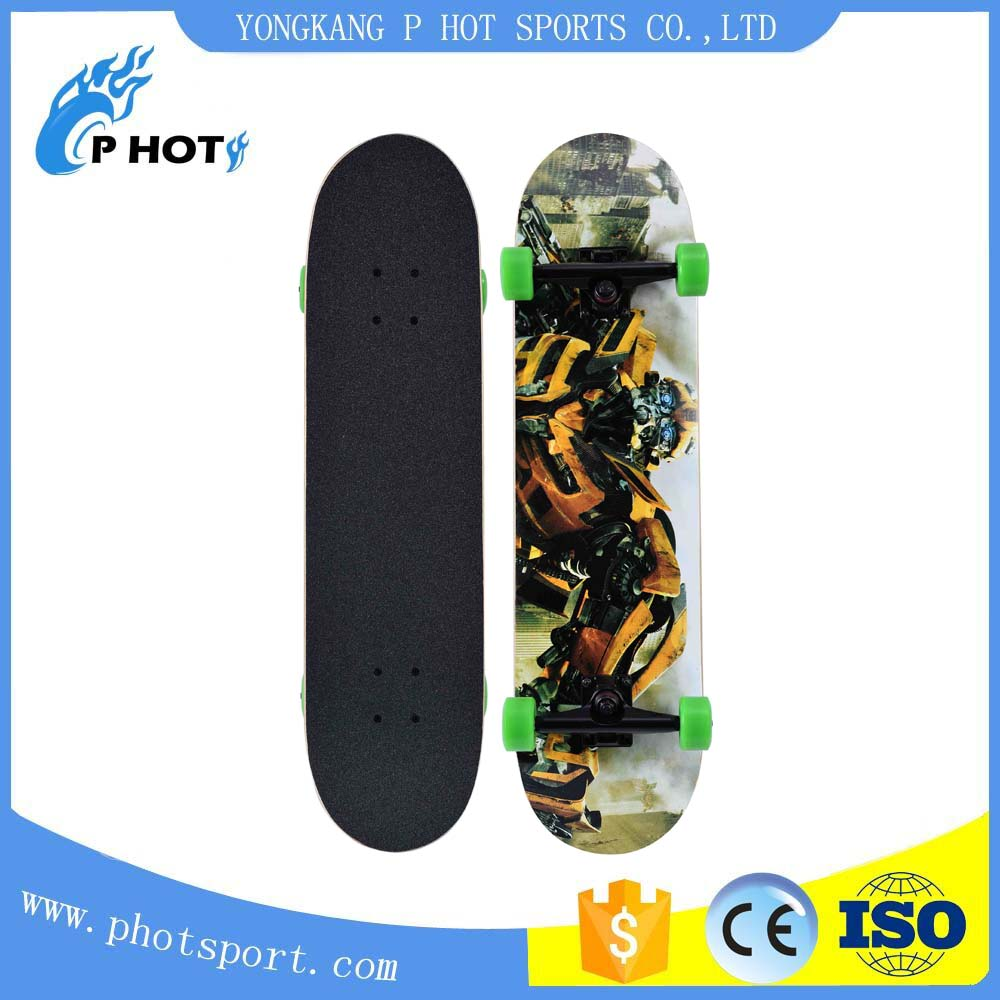 2017 new products 7 ply Canadian maple skateboard wooden skateboard