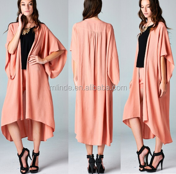 Coolest Oversize Kimono Wide Arm Holes Extra Long Length Loose ...