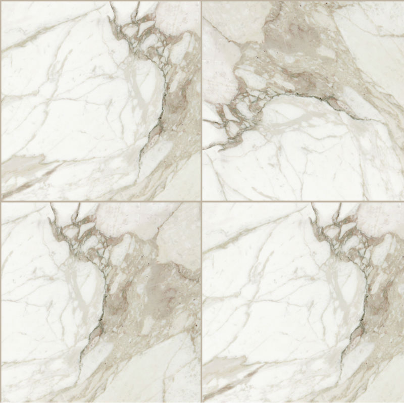 pleine poli marbre look blanc calacatta carreaux de porcelaine 24 x 24 tuiles id de produit. Black Bedroom Furniture Sets. Home Design Ideas