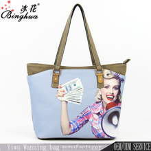 A-215 China handbag manufacturer newest picture lady latest fashion OEM wholesale bueno handbag