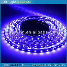 2016 Indoor&Outdoor Decorative Lighting DC12V Smd 3528 Epistar Chip Led Strip Light