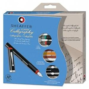 Sheaffer Pen Calligraphy Maxi Kit,W/3 Pens,3 Nibs,14 Assorted Color Ink - Sheaffer Pen Calligraphy Maxi Kit,W/3 Pens,3 Nibs,14 Assorted Color Inkcalligraphy Maxi Kit Includes Three Viewpoint Calligra