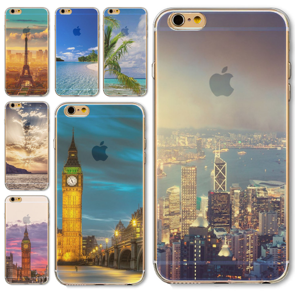 Back Skin Capa For iPhone4 4s 5 5s 5C SE 6 6S 6Plus 6sPlus case Cover