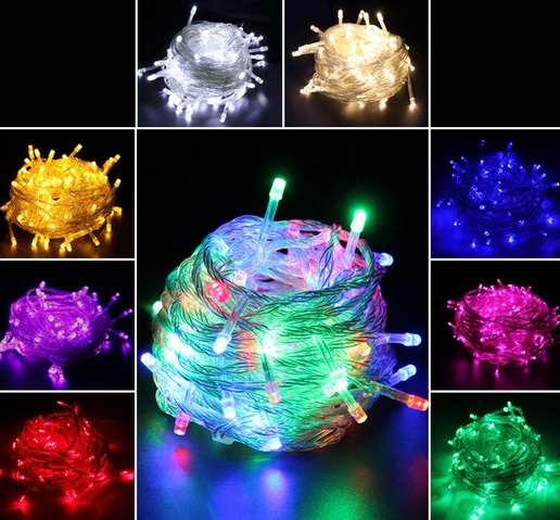 china supplier hot sale 10m 100 led string outdoor decoration holiday tree christmas lights. Black Bedroom Furniture Sets. Home Design Ideas