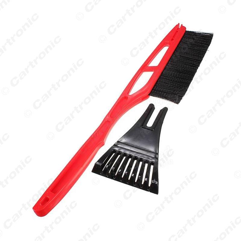 10 шт. длинной ручкой ABS снег щетка с скребок сад открытый автомобиль лопата инструмент # CT5450
