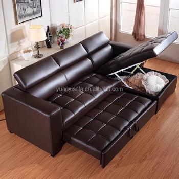 Modern Corner Leather Adjule Sofa