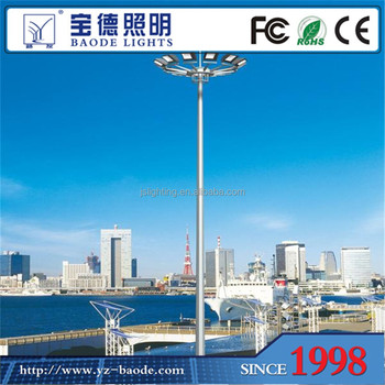Best price 30m 2000w high mast sodium light with high quality