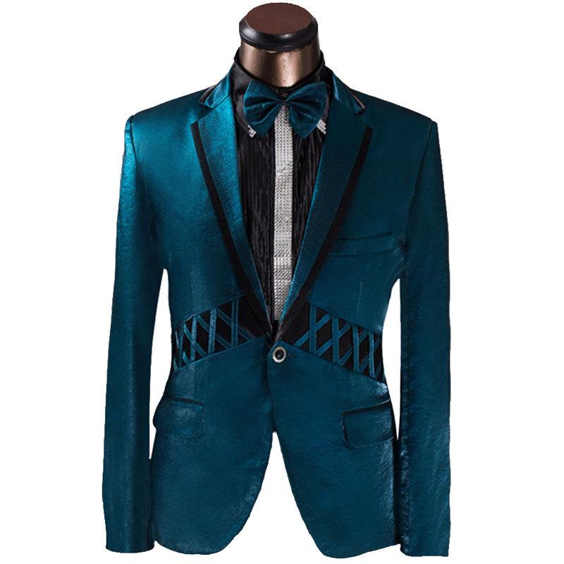 Cheap Mens Shiny Blue Suit, find Mens Shiny Blue Suit deals on