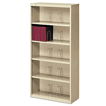 Putty HON 600 Series Steel Open Shelving, Six-Shelf, 36w x 13-3/4d x 75-7/8h - BMC-HON 626NL