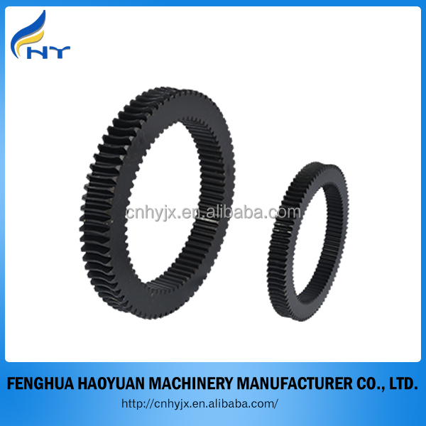 Customized stainless steel double gear rings with high quality and cheap price