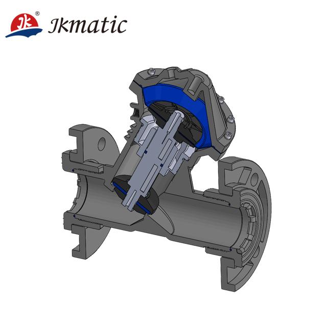 JKmatic 工場供給産業アプリケーション DN100 pa 材料水処理と廃水処理プラント Aquamatic バルブ