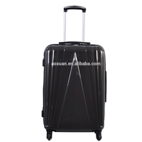 cool design new product top trolley pc polycarbonate four wheels travel luggage hard suitcase