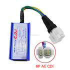 12V AC Scooter performance racing CDI For GY6 ATV 50cc 150CC moped go kart chinese sunl