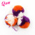 Multicolor Big Acrylic Pompom For Packing Gift